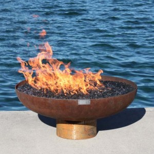 "Font O Fire 30"" Diameter Gas Firebowl"