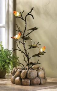 Beautiful Songbird Fountain