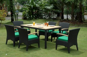 Bellagio Dining Set GREEN