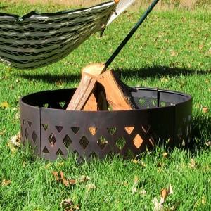 Crossweave Fire Pit Ring