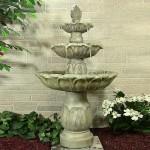 Choose Lightweight Garden Fountain for Smaller Outdoor Areas