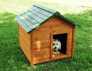 Crown Classic Cedar Dog HouseCP-DH-CL-