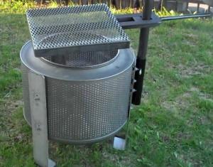 DIY Washer Drum Fire Pit
