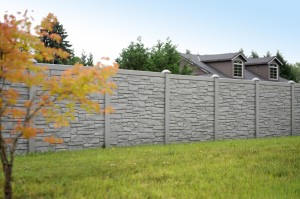 Ecostone Rock Fencing