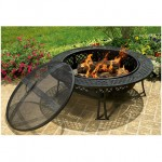 FB8008 30 diamond mesh fire pit