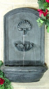 Outdoor Classics Seaside Outdoor Wall Fountain