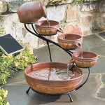 Various Types of Solar Fountains