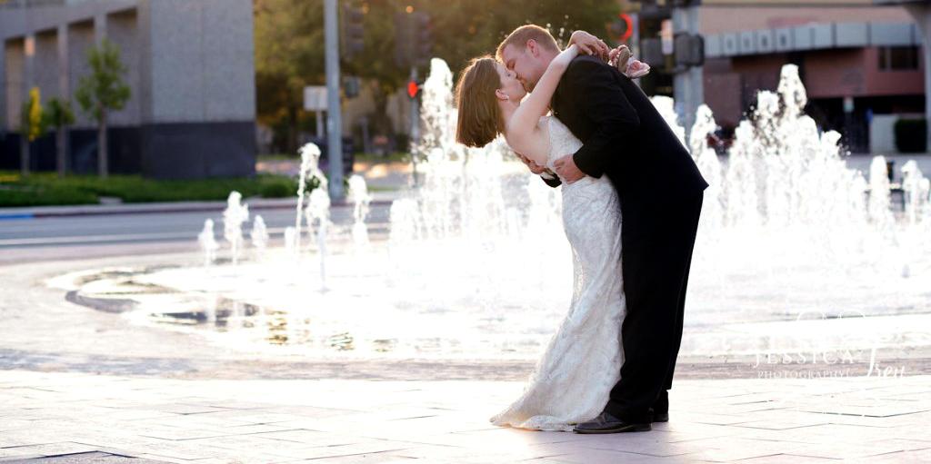 big wedding fountain