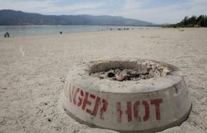 California Beach Fire Pit