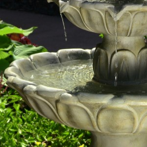 Classic Tulip Fountain
