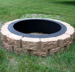 Heavy Duty Fire Pit Rim