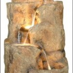 Add Beauty to your Backyard Using Rock Style Water Fountains