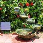 Enhance your Outdoors Using Solar Fountains