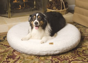 SnooZZY OrthoAir Inflatable Round Dog Bed