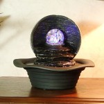 Harmony Tabletop Fountain with LED Light