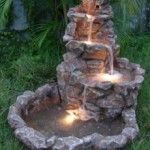 Product Spotlight: Lighted Stone Springs Outdoor Water Feature